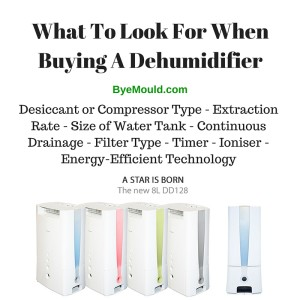 dehumidifier hire what to look for