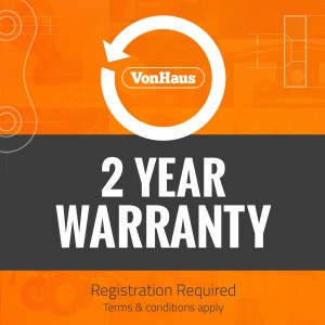 vonhaus air purifiier 2 year warranty