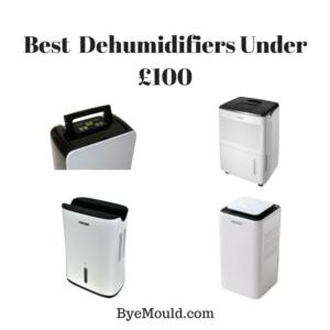 Best Dehumidifiers Under £100