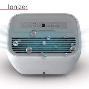 inventor 20l dehumidifier ioniser laundry mode caster wheels